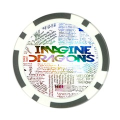 Imagine Dragons Quotes Poker Chip Card Guard (10 pack)