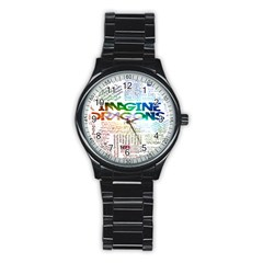 Imagine Dragons Quotes Stainless Steel Round Watch