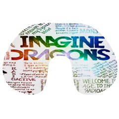 Imagine Dragons Quotes Travel Neck Pillows