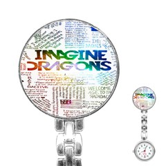 Imagine Dragons Quotes Stainless Steel Nurses Watch