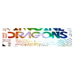 Imagine Dragons Quotes Satin Scarf (Oblong)