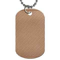 Tooling Patterns Dog Tag (Two Sides)