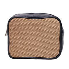 Tooling Patterns Mini Toiletries Bag 2-Side