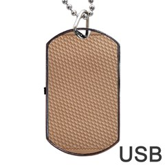 Tooling Patterns Dog Tag USB Flash (One Side)