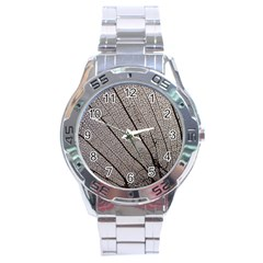 Sea Fan Coral Intricate Patterns Stainless Steel Analogue Watch