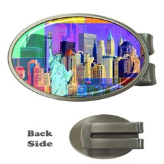 New York City The Statue Of Liberty Money Clips (Oval)