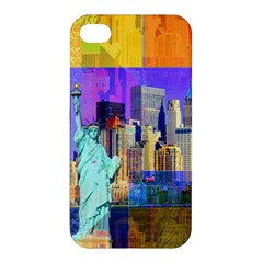 New York City The Statue Of Liberty Apple iPhone 4/4S Hardshell Case