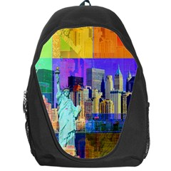 New York City The Statue Of Liberty Backpack Bag