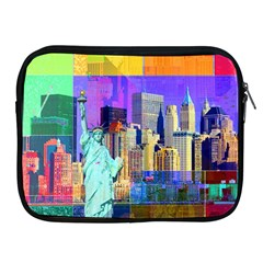 New York City The Statue Of Liberty Apple iPad 2/3/4 Zipper Cases