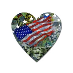 Usa United States Of America Images Independence Day Heart Magnet