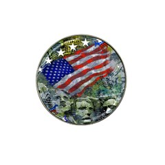 Usa United States Of America Images Independence Day Hat Clip Ball Marker (4 pack)