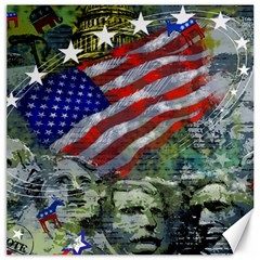 Usa United States Of America Images Independence Day Canvas 16  x 16