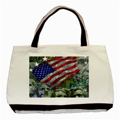 Usa United States Of America Images Independence Day Basic Tote Bag (Two Sides)