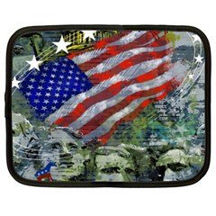 Usa United States Of America Images Independence Day Netbook Case (XXL)