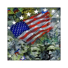 Usa United States Of America Images Independence Day Acrylic Tangram Puzzle (6  x 6 )