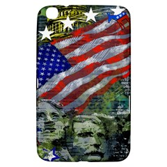 Usa United States Of America Images Independence Day Samsung Galaxy Tab 3 (8 ) T3100 Hardshell Case