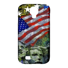 Usa United States Of America Images Independence Day Samsung Galaxy S4 Classic Hardshell Case (PC+Silicone)