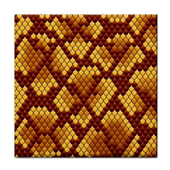 Snake Skin Pattern Vector Tile Coasters