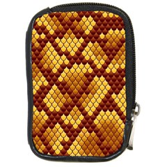 Snake Skin Pattern Vector Compact Camera Cases