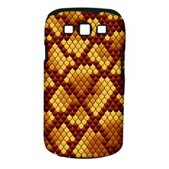 Snake Skin Pattern Vector Samsung Galaxy S III Classic Hardshell Case (PC+Silicone)