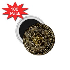 Gold Roman Shield Costume 1.75  Magnets (100 pack)