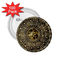 Gold Roman Shield Costume 2.25  Buttons (100 pack)
