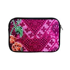 Pink Batik Cloth Fabric Apple iPad Mini Zipper Cases
