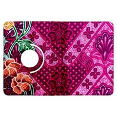 Pink Batik Cloth Fabric Kindle Fire HDX Flip 360 Case