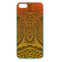 Fractal Pattern Apple Seamless iPhone 5 Case (Color)