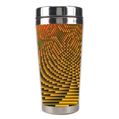 Fractal Pattern Stainless Steel Travel Tumblers