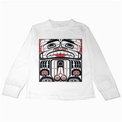 Ethnic Traditional Art Kids Long Sleeve T-Shirts