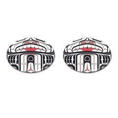 Ethnic Traditional Art Cufflinks (Oval)
