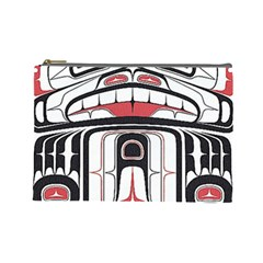 Ethnic Traditional Art Cosmetic Bag (Large)