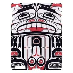 Ethnic Traditional Art Apple iPad 3/4 Hardshell Case
