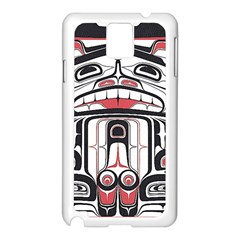 Ethnic Traditional Art Samsung Galaxy Note 3 N9005 Case (White)