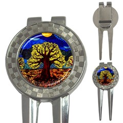 Tree Of Life 3-in-1 Golf Divots