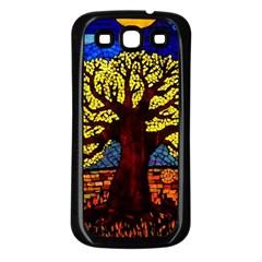 Tree Of Life Samsung Galaxy S3 Back Case (Black)
