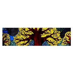 Tree Of Life Satin Scarf (Oblong)