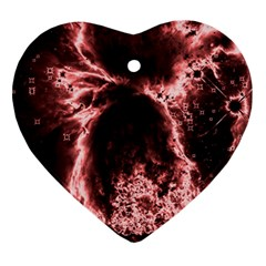 Space Heart Ornament (Two Sides)