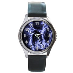 Space Round Metal Watch