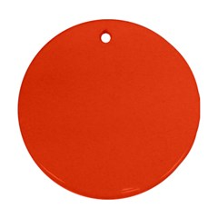 Trendy Basics   Trend Color Flame Ornament (round)