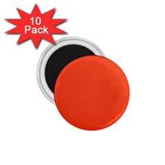 Trendy Basics   Trend Color Flame 1 75  Magnets (10 Pack)
