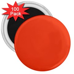 Trendy Basics   Trend Color Flame 3  Magnets (100 Pack)