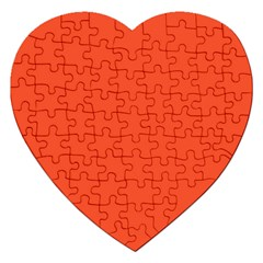 Trendy Basics   Trend Color Flame Jigsaw Puzzle (heart)