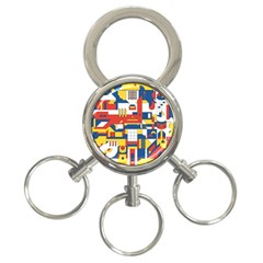 Hide And Seek 3-Ring Key Chains