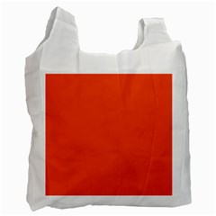 Trendy Basics   Trend Color Flame Recycle Bag (one Side)