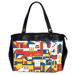 Hide And Seek Office Handbags (2 Sides)