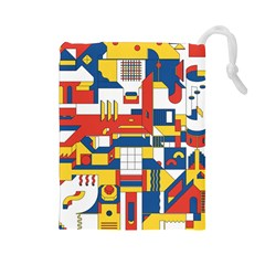 Hide And Seek Drawstring Pouches (Large)