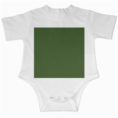 Trendy Basics   Trend Color Kale Infant Creepers