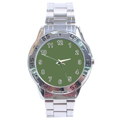 Trendy Basics   Trend Color Kale Stainless Steel Analogue Watch